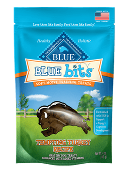 THE BLUE BUFFALO CO. BLUE™ Bits® Tempting Turkey Soft-Moist Training Treats