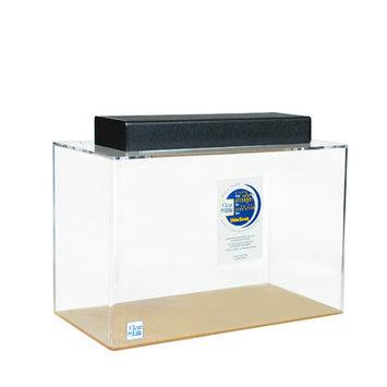 Clearforlife Rectangle Acrylic Aquarium Tank Color: Clear, Size: 24