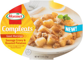 Hormel® Compleats™ Good Mornings Sausage Gravy & Potatoes 7.5 oz. Bowl