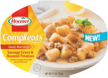 Hormel® Compleats™ Good Mornings Sausage Gravy & Potatoes 7.5 oz. Bowl