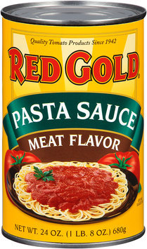 Red Gold® Meat Flavor Pasta Sauce 24 oz. Can
