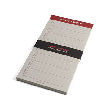 Bob's Your Uncle 8 Days A Week List Pad