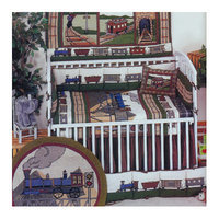 Patch Magic Train 9 Piece Crib Bedding Set