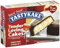 Tastykake® Tender Loving Dark Chocolate Coated Coconut Cakes
