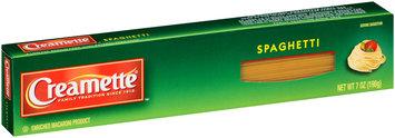 Creamette® Spaghetti Pasta 7 oz. Box