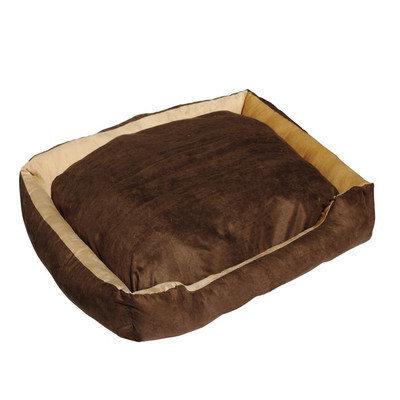 Aleko Soft Plush Pet Cushion Crate Bed Mat Size: Extra Large