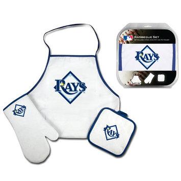 Mcarthur Towel WinCraft Tampa Bay Rays 3-Piece BBQ Set - White