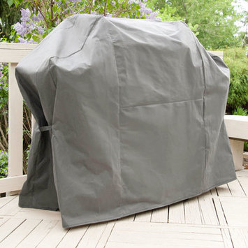 Rust-Oleum Grill Tools Stops Rust 70 in. BBQ Grill Cover Gray P8006SR1