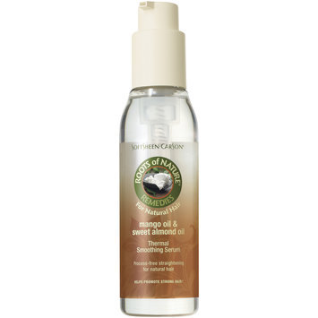 Roots of Nature Mango Oil & Sweet Almond Oil Thermal Smoothing Serum 1 Ct Spray Bottle