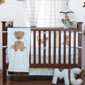 One Grace Place - Puppy Pal Boy Crib Bumper