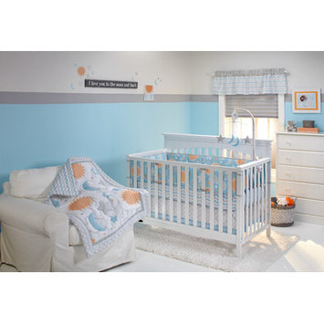 Little Bedding Celestial Baby Traditional Padded Bumper