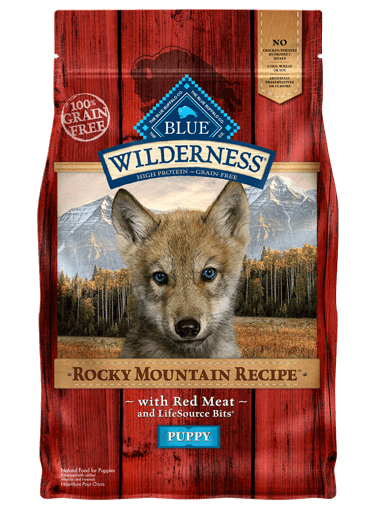 THE BLUE BUFFALO CO. BLUE™ Wilderness® Rocky Mountain Recipe™ Red Meat For Puppies
