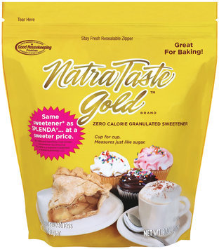 Natra Taste Zero Calorie Granulated Gold Sweetener 9.7 Oz Bag