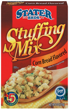 Stater Bros. Corn Bread Stuffing Mix 6 Oz Box