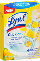 Lysol® Click Gel™ Automatic Toilet Bowl Cleaner 0.68 oz. Box