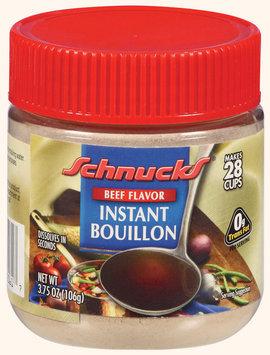 Schnucks Instant Beef Flavor Bouillon 3.75 Oz Plastic Jar