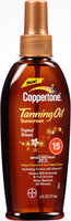 Coppertone® Tropical Breeze Tanning Oil Broad Spectrum SPF 15 Sunscreen 6 fl. oz. Spray Bottle