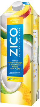 ZICO® Pineapple Mango Chilled Juice Blend 1.5L Aseptic Carton