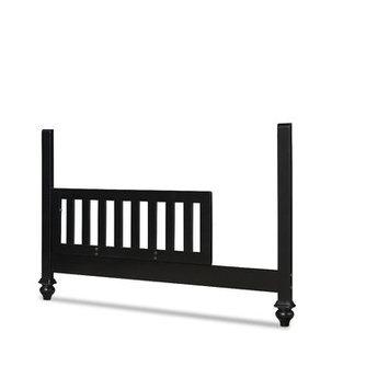 Smartstuff Furniture Black & White Toddler Rail Kit Finish: Black
