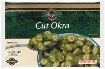 Haggen Cut Okra 16 Oz Bag