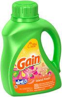Gain Liquid Laundry Detergent, Island Fresh Scent, 25 Loads 40 Fl Oz