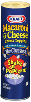 Kraft Macaroni & Cheese  Cheese Topping 3 Oz Shaker