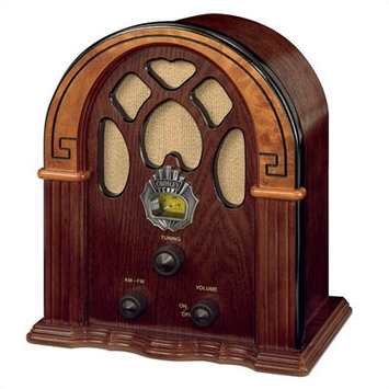 Crosley CR31-WA Companion Tabletop Radio - Walnut
