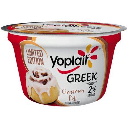 Yoplait® Greek Cinnamon Roll Lowfat Yogurt