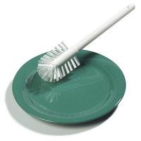 Carlisle Scrubbing Brushes 11 in. White Household Dish Brush (Case of 6) 367600TC02