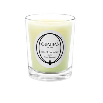 Qualitas Candles Beeswax Lilly of the Valley Scented Candle