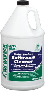 Spray Nine® 26001 Adirondack Green Multi-Surface  Bathroom Cleaner 1 Gal Plastic Jug