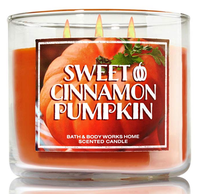 Bath & Body Works® SWEET CINNAMON PUMPKIN Home Scented Candle