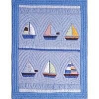 Amity Home Sail Away Baby Quilt