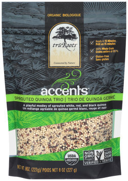TruRoots™ Accents™ Organic Sprouted Quinoa Trio 8 oz. Bag--TruRoots™ Accents™ Biologique Trio de Quinoa Germe 8 oz. Sac