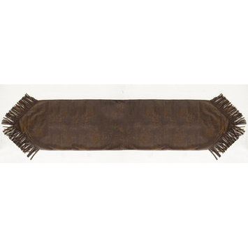 HiEnd Accents Faux Leather Runner