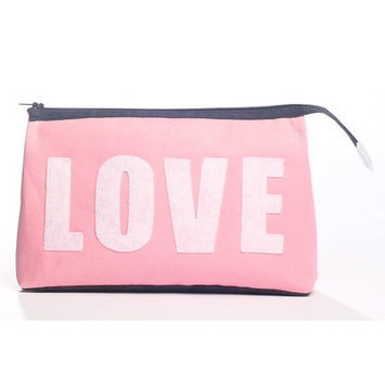 Alexandra Ferguson 'Love' Fabric Cosmetics Pouch