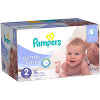 Pampers® Gentle Care Newborn Diapers Size 2