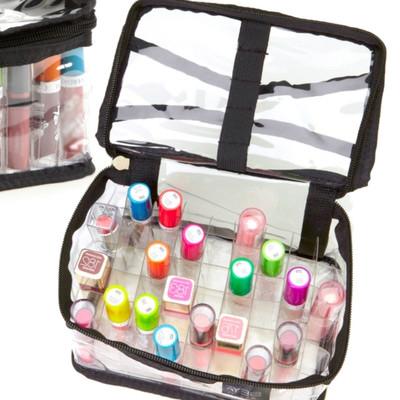 Seya Clear PVC Makeup Cosmetic Organizer Bag