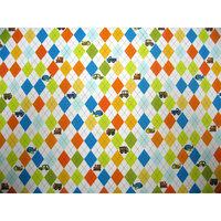 Stwd Argyle Transport Crib Sheet Color: White