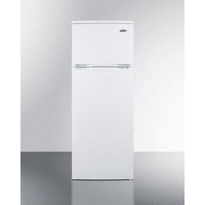 Summit Appliance Refrigerator 6.4 cu. ft. Top Freezer Refrigerator in White, Counter Depth CP961