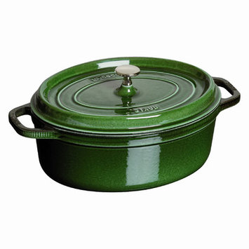 Staub Oval 7 qt. Cocotte in Basil
