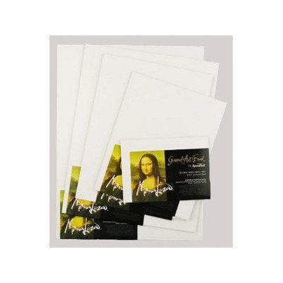 Mona Lisa Gessoed Art Board 6x6