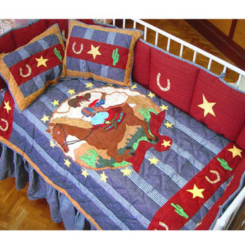 Patch Magic Lil Buckaroo 9 Piece Crib Bedding Set