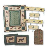 Patch Magic Cedar Trail 6 piece Crib Bedding Set