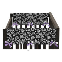 Sweet Jojo Designs Kaylee Side Crib Rail Guard Cover