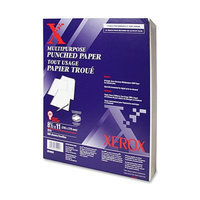 Xerox 19 Hole-Punched Multi-Purpose White Copy Paper