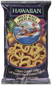 HAWAIIAN™ KETTLE STYLE POTATO CHIPS Sweet Maui Onion Rings