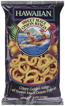 HAWAIIAN™ KETTLE STYLE POTATO CHIPS Sweet Maui Onion Rings 4 OZ BAG