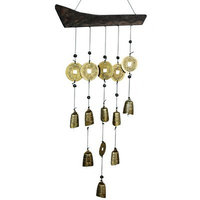 House Beautiful Marketplace Oriental Furniture Tibetan Bell Wind Chime