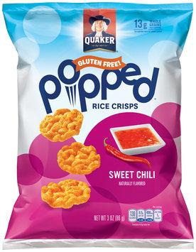 Quaker® Popped® Sweet Chili Rice Crisps 3 oz. Bag